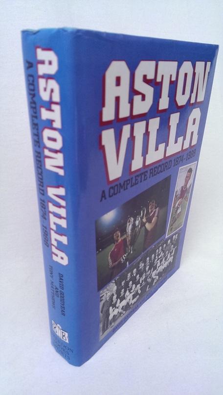 Image for Aston Villa - A Complete Record 1874-1988.