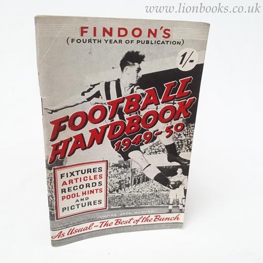 WILSON, MATTY - Findon's Football Handbook 1949-50