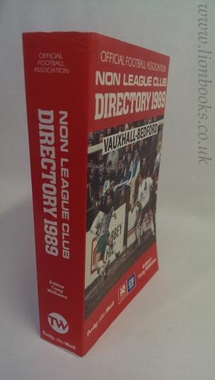 WILLIAMS, TONY - Non League Club Directory 1989