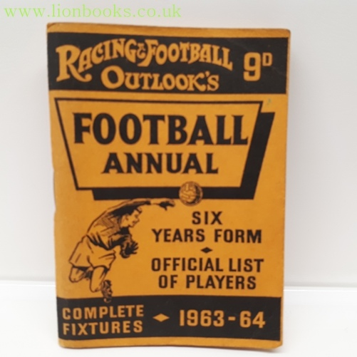 Image for Racing & Football Outlook's Football Annual 1963-64