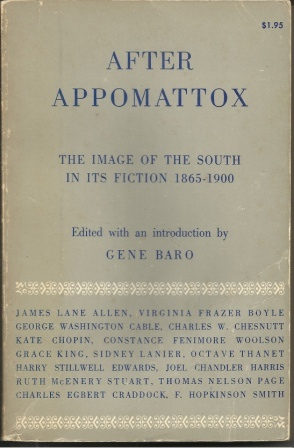 Image for After Appomattox The Image of the South in its Fiction 1865-1900