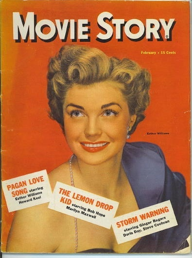 Image for Movie Story, February 1951 Esther Williams