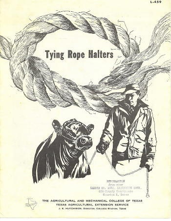 Image for Tying Rope Halters L-459