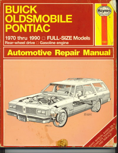 Image for Haynes Repair Manual Buick, Oldsmobile & Pontiac: