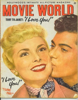 Image for Movie World Magazine, May 1953 Janet Leigh and Tony Curtis