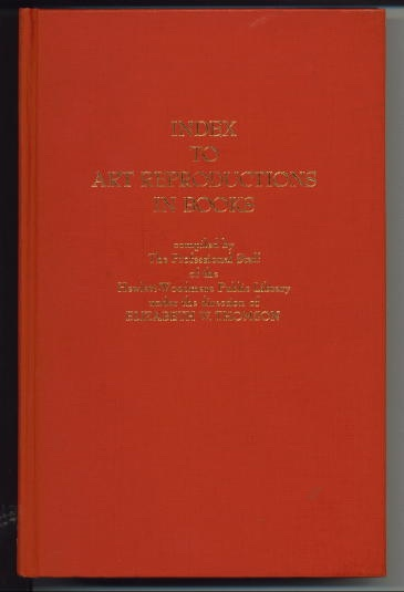 Image for Index To Art Reproductions In Books
