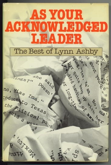 Image for As Your Acknowledged Leader The Best of Lynn Ashby