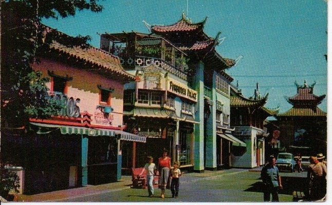 Image for China Town, Los Angeles, California