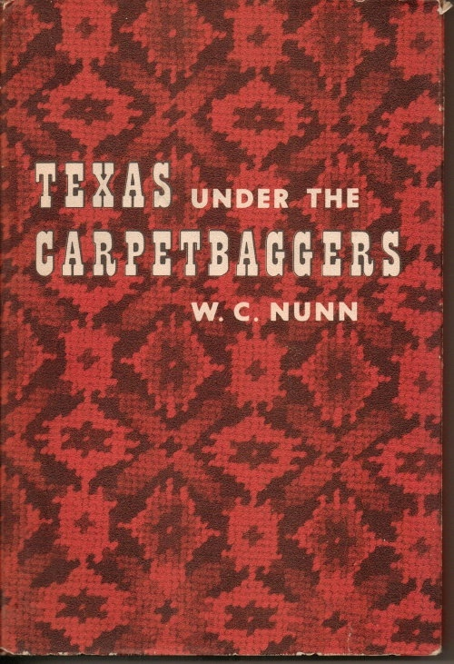 Image for Texas Under the Carpetbaggers