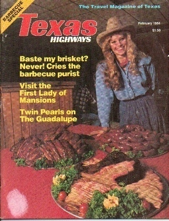 Image for Texas Highways Magazine The Official Texas State Travel Magazine February 1984