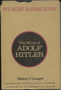 Image for The Mind Of Adolph Hitler The Secret Wartime Report