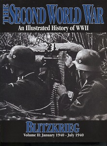 Image for The Second World War Vol. 2 - Blitzkrieg An Illustrated History of World War II
