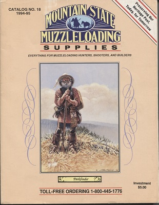 Image for Mountain State Muzzleloading Supplies Catalog #18 1994-95