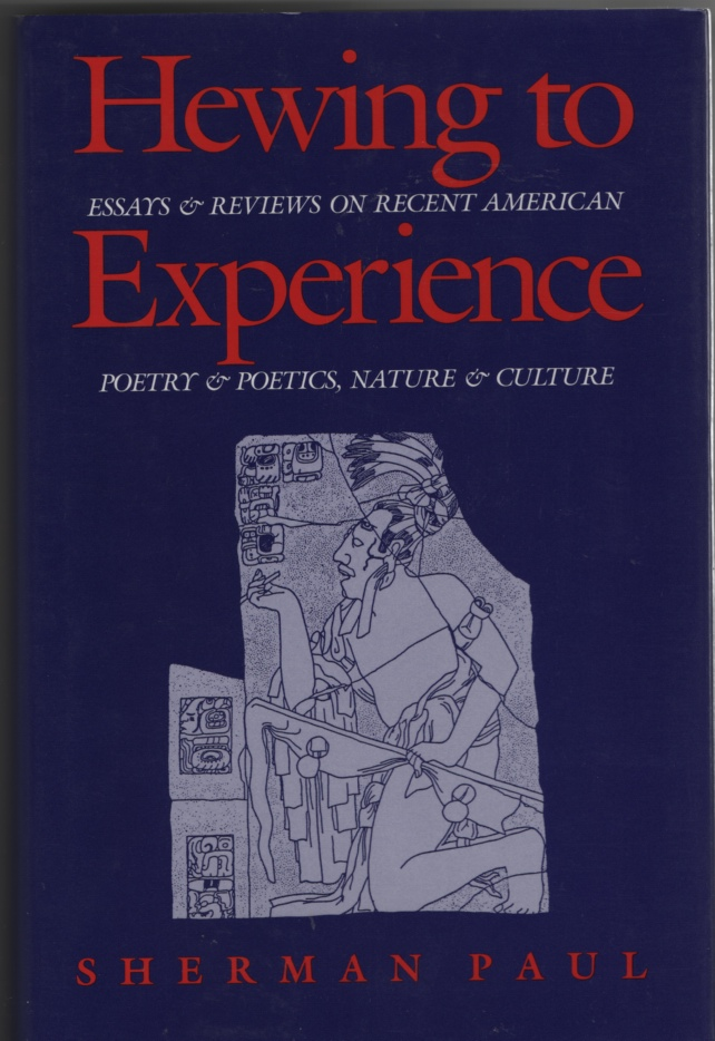 Image for Hewing to Experience : Essays & Reviews on Recent American Poetry & Poetics, Nature & Culture