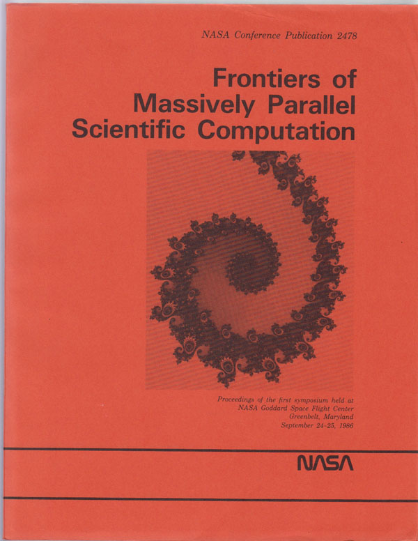 Image for Frontiers of Massively Parallel Scientific Computation:  NASA Conference Publication 2478