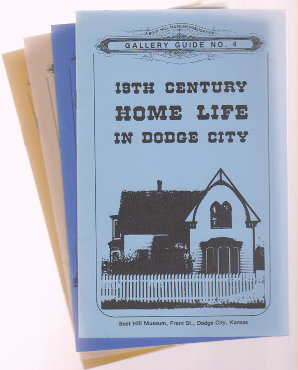 Image for Four Dodge City Gallery Guides (1, 2, 3, and 4)  Dodge City / Historic Front Street / Cattle and Wheat / 19th Century Home Life