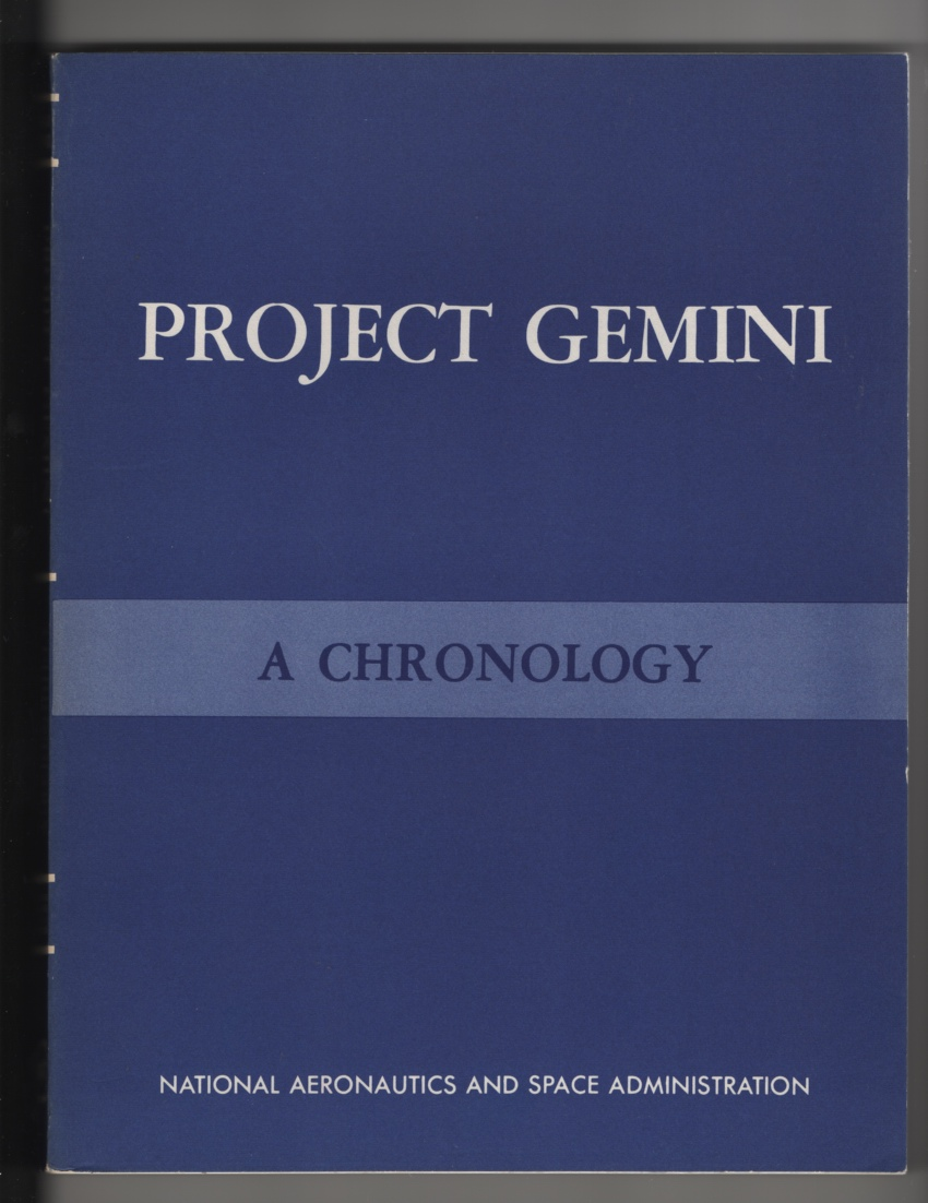 Image for Project Gemini:  Technology and Operations : a Chronology (SP-4002)