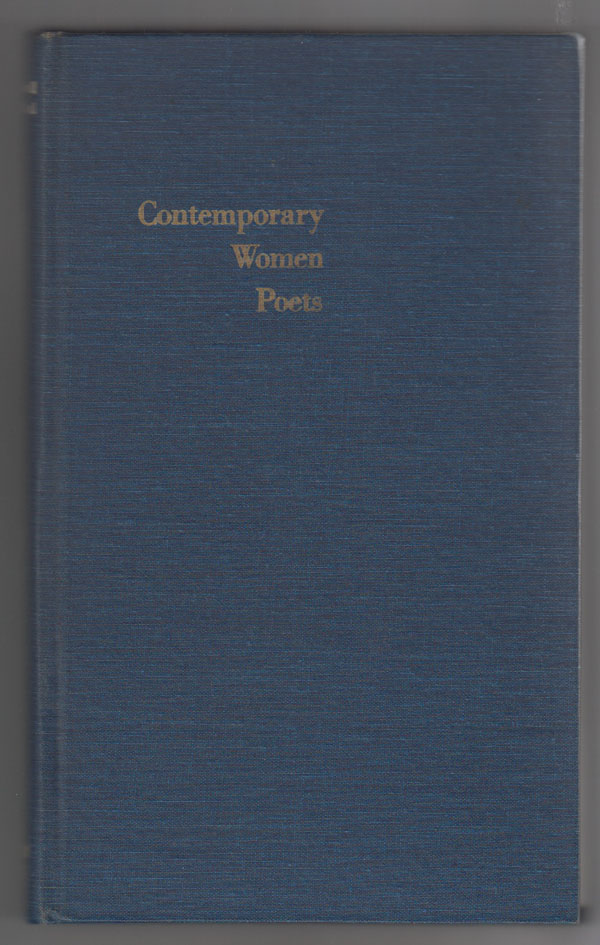 Image for Contemporary Women Poets:  An Anthology of California Poets