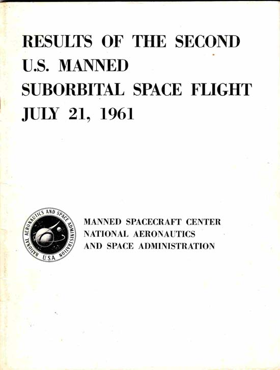 Image for Results of the Second U. S. Manned Suborbital Space Flight, July 21, 1961