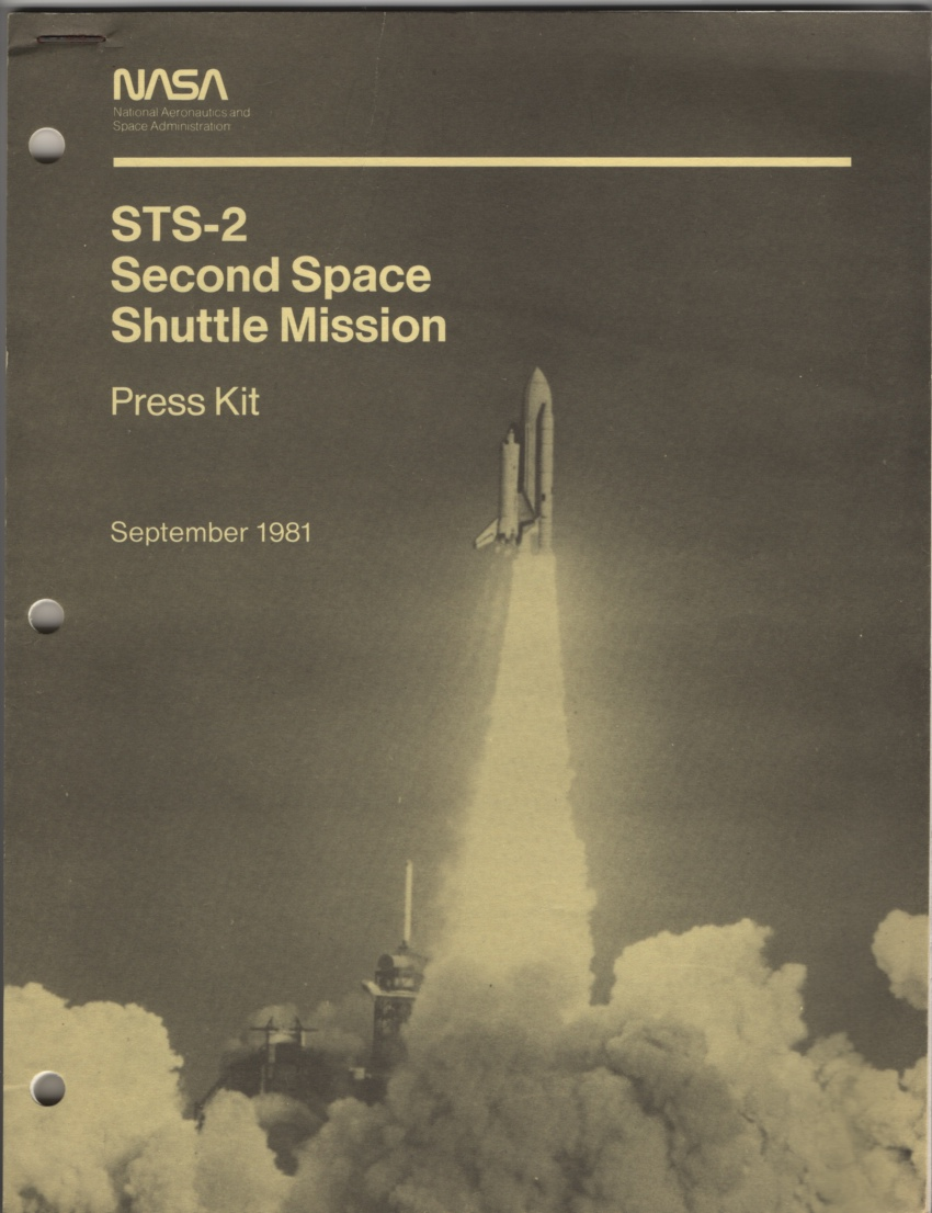 Image for Second Space Shuttle Mission (STS-2) : Press Kit