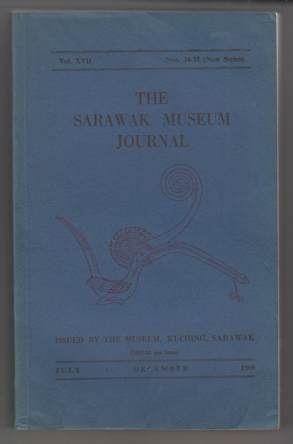 Image for The Sarawak Museum Journal (Vol. XVII Nos. 34-35, New Series) July-December 1969
