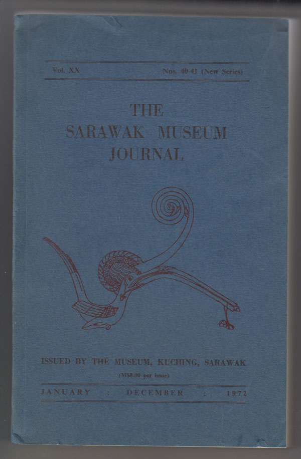 Image for The Sarawak Museum Journal (Vol. XX Nos. 40-41, New Series) January-December 1972