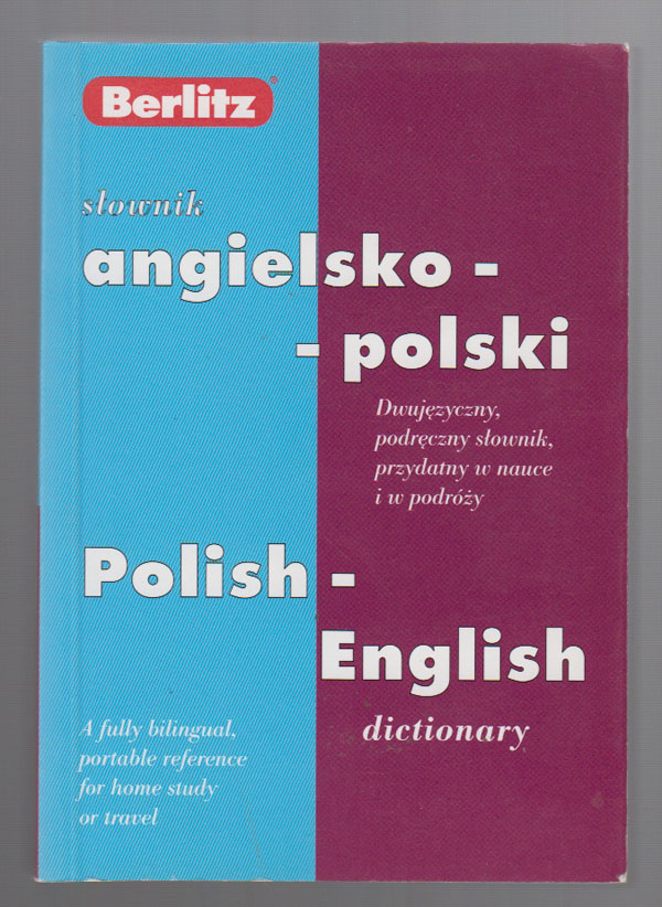 Slownik Angielsko-Polski Polish-English Dictionary, Berlitz