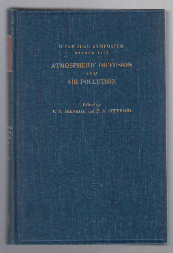 Image for Atmospheric Diffusion and Air Pollution:  Proceedings of a Symposium Held At Oxford, August 24-29, 1958