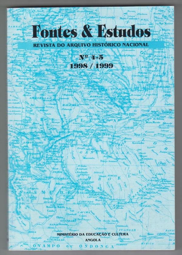 Image for Fontes & Estudos:  Revista Do Arquivo Histrico Nacional No. 4-5 1998-1999