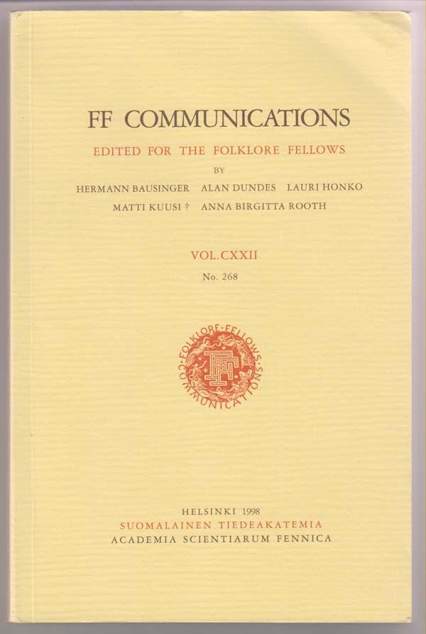 Image for Der Estnische Volkskalender:  FF Communications: Vol. CXXII No. 268