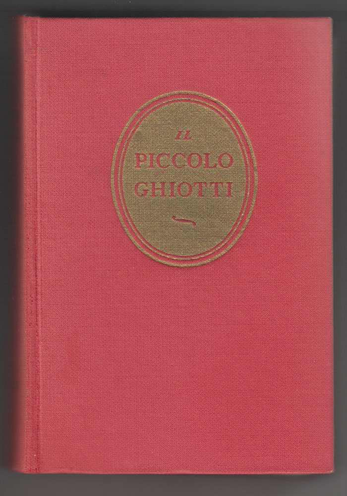 Image for IL Piccollo Ghiotti Vocabolario Italiano-Francese E Francese-Italiano