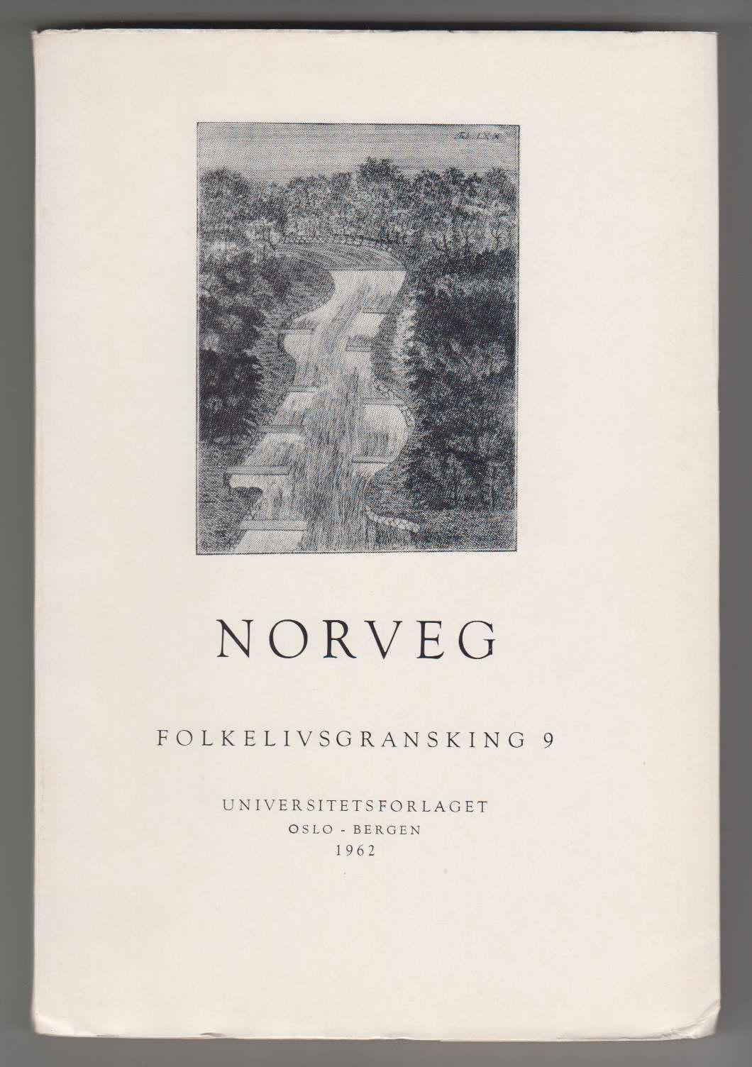 Image for Norveg: Tidsskrift for Folkelivsgransking (Journal of Norwegian Ethnology) 9