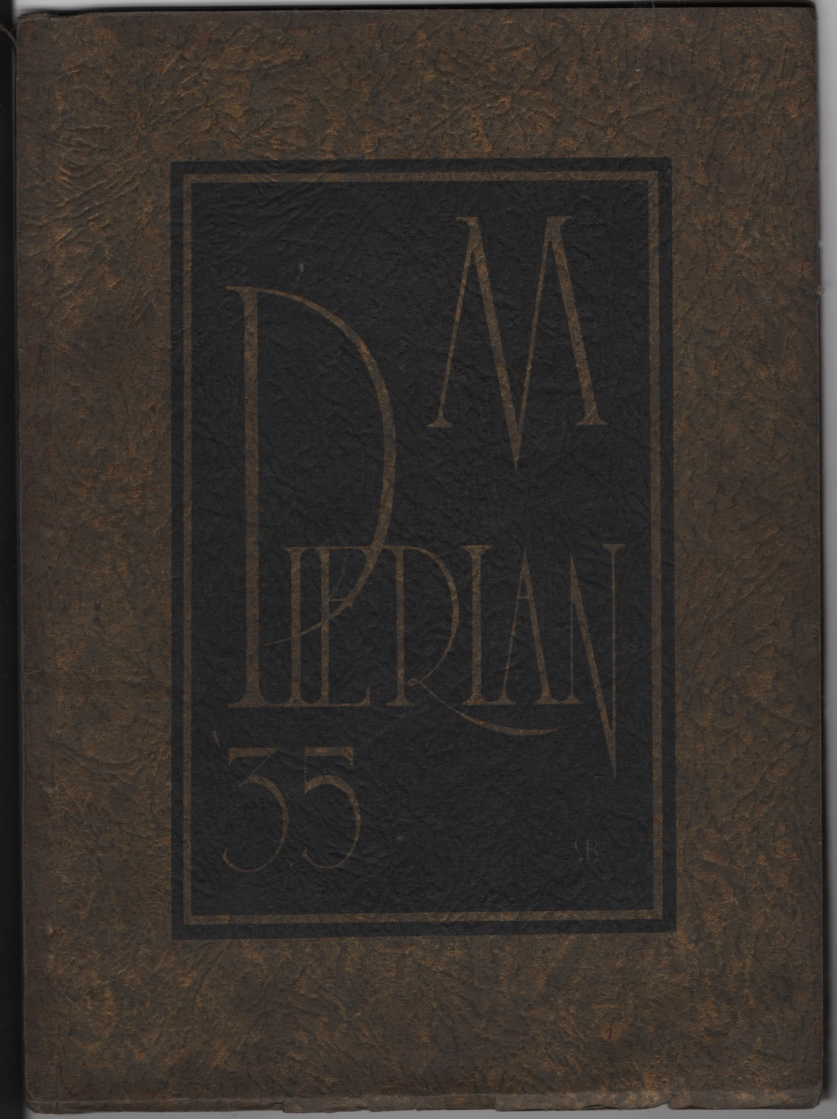 Image for THE Pierian. Morton High School [Annual/Yearbook], Richmond Indiana (1935)