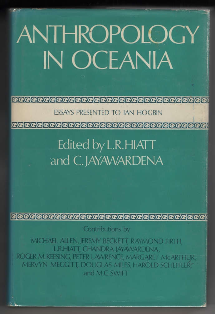 Image for Anthropology in Oceania: Essays Presented to Ian Hogbin