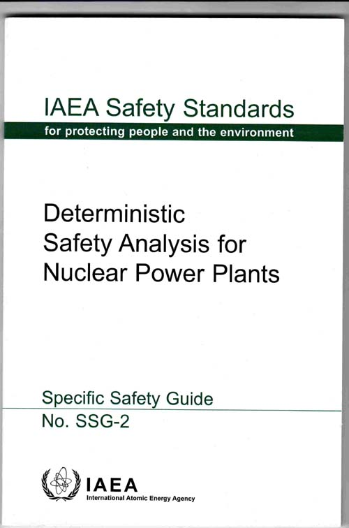 Image for Deterministic Safety Analysis for Nuclear Power Plants (Specific Safety Guide No. SSG-2)