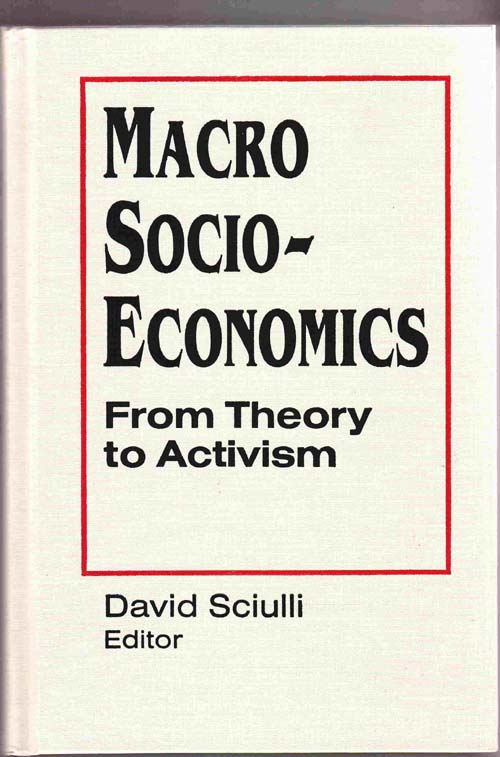 Image for Macro Socio-Economics:   From Theory to Activism