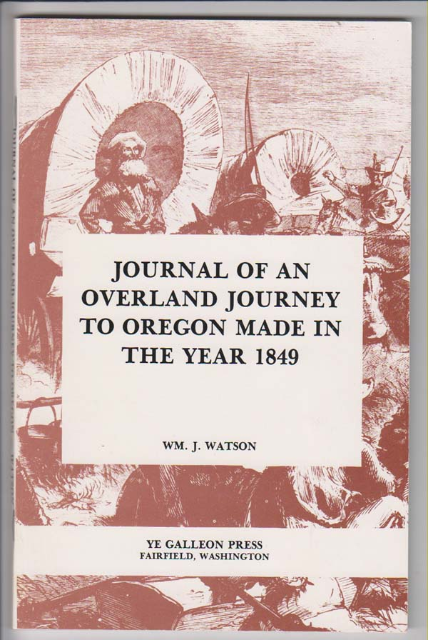 Image for Journal of an Overland Journey to Oregon Made in the Year 1849