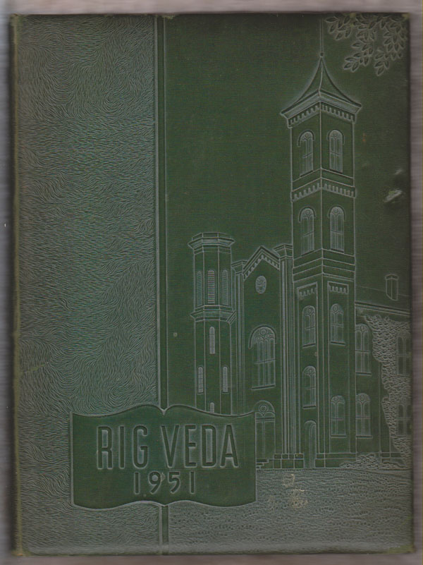 Image for Rig Veda 1951 Yearbook (Illinois College, Jacksonville, IL)