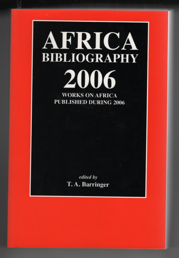 Image for Africa Bibliography (22 Volumes) : Works on Africa Published During 1984-2004