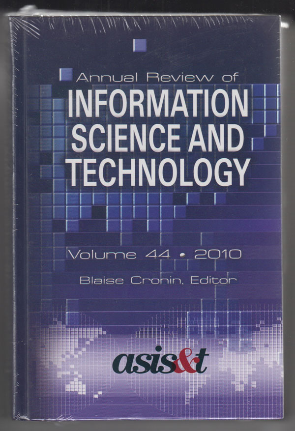 Image for Annual Review of Information Science and Technology (Volume 44, 2010)