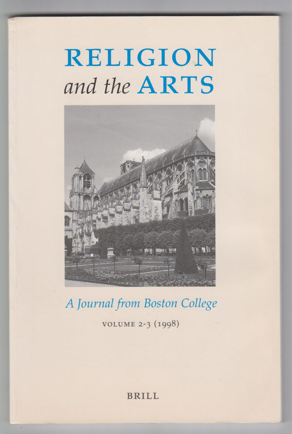 Image for Religion and the Arts: a Journal from Boston College (Volume 2-3, 1998) [Raymond Carver Issue]