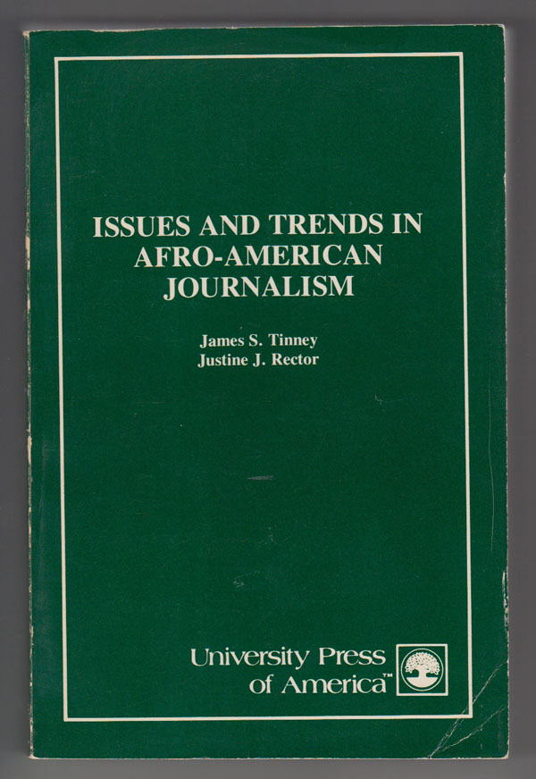 Image for Issues and Trends in Afro-American Journalism
