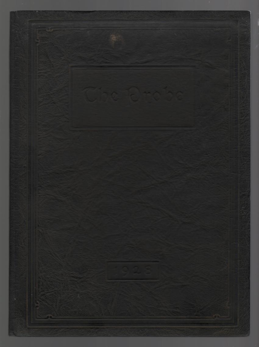 Image for The Probe; School of Nursing, Western Reserve University 1928 Yearbook