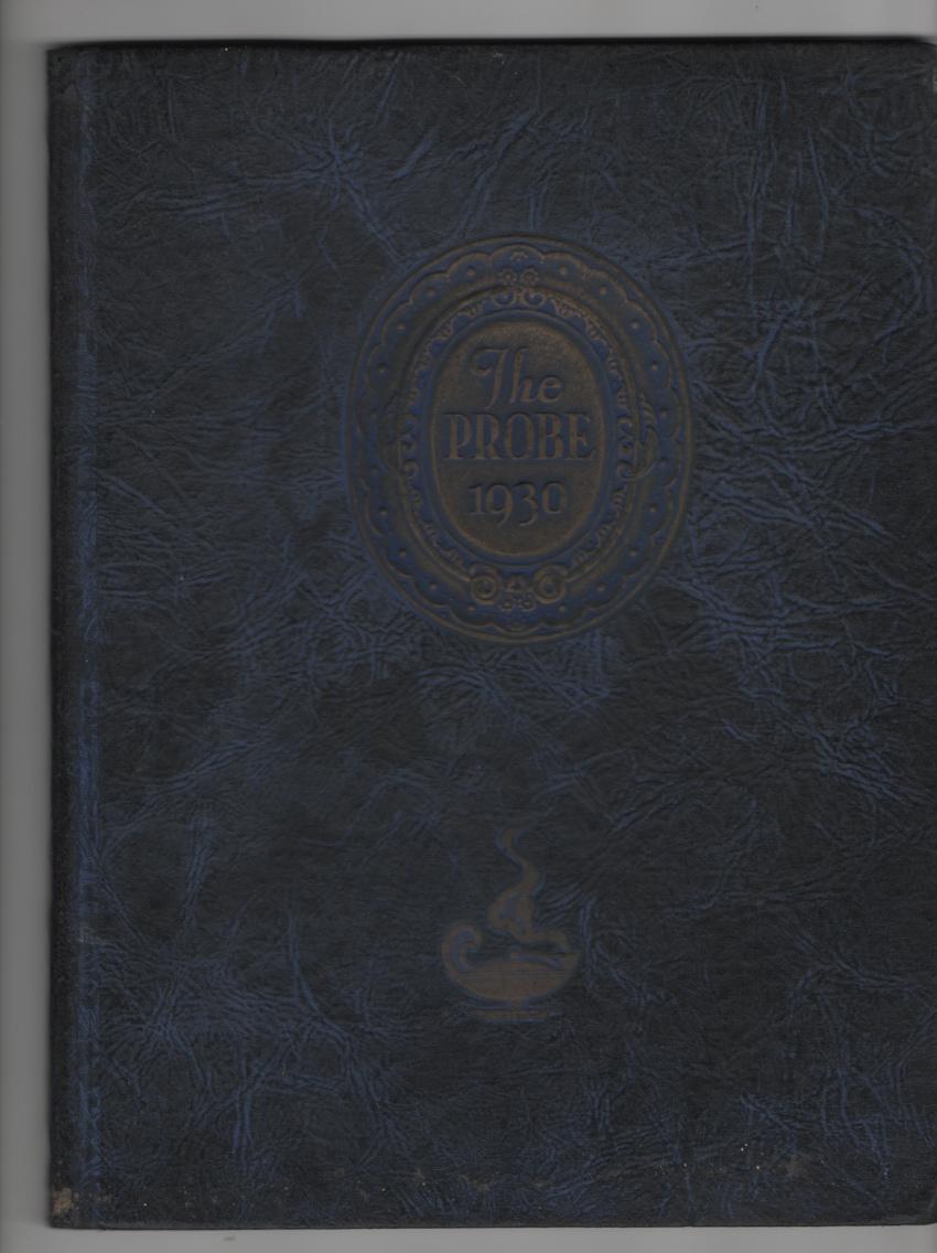 Image for The Probe; School of Nursing, Western Reserve University 1930 Yearbook
