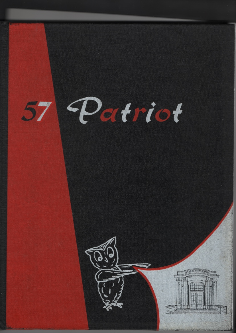Image for The Patriot High School Yearbook (Seymour Indiana 1957)