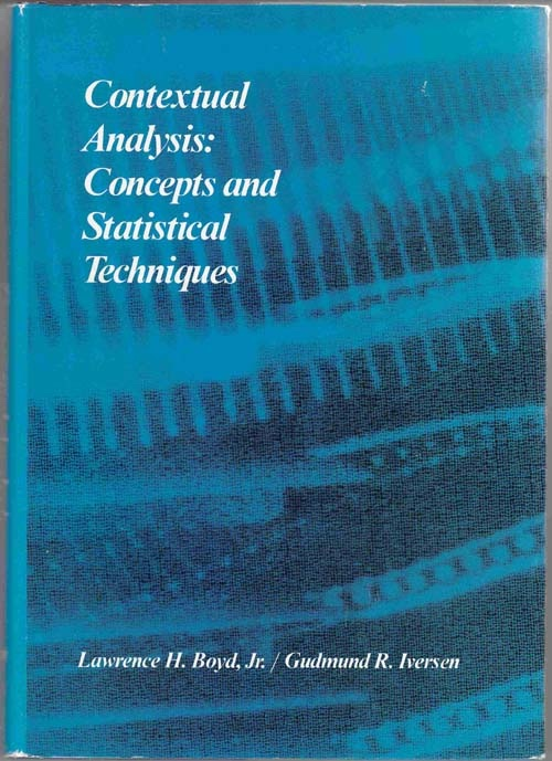 Contextual Analysis: Concepts and Statistical Techniques, Boyd, L.