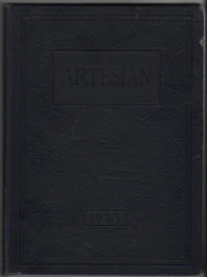 Image for Artisian Volume III (High School Yearbook, Martinsville, Indiana, 1925)