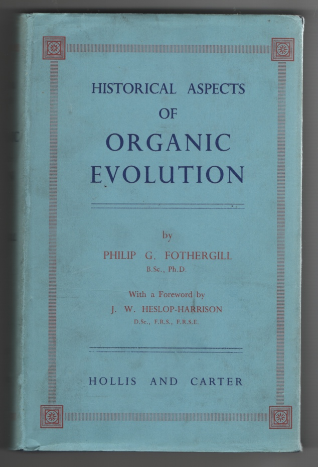 Image for Historical Aspects of Organic Evolution. with a Foreword by J. W. Heslop Harrison
