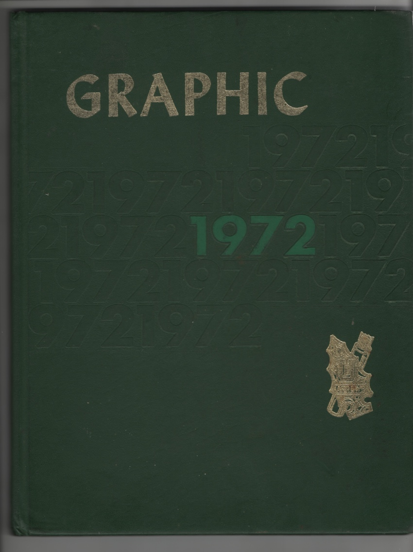 Graphic (High School Yearbook for Unionville, IN, 1972), Staff, Yearbook