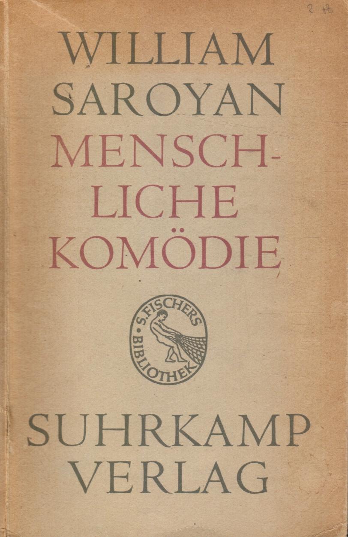 Image for Menschliche Komödie Roman